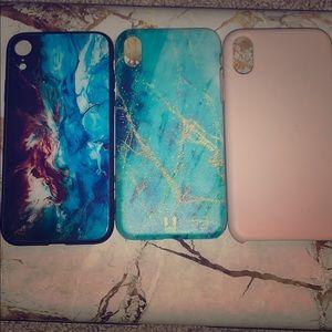 Accessories - iPhone XR case bundle